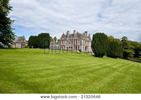 Castle Leslie Estate In County Monaghan ,ireland