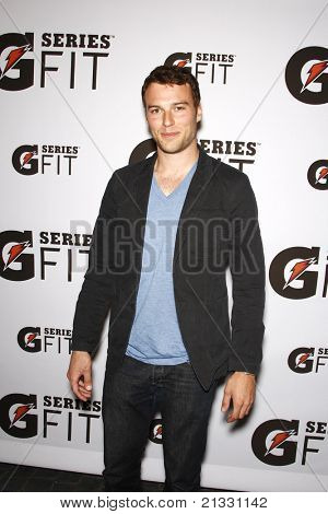 LOS ANGELES - APR 12:  Peter Mooney at the 'Gatorade G Series Fit Launch Event' at the SLS Hotel in Los Angeles, California on April 12, 2011.
