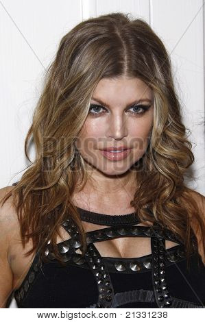 WEST HOLLYWOOD - APR 13: Fergie aka Stacy Ferguson at the Kimberly Snyder Book Launch Party For 'The Beauty Detox Solution' at The London Hotel in West Hollywood, California on April 13, 2011.