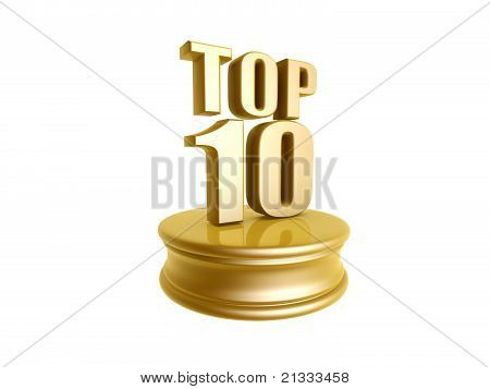 Top Ten In Rank List