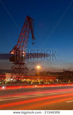 Crane In Euskalduna