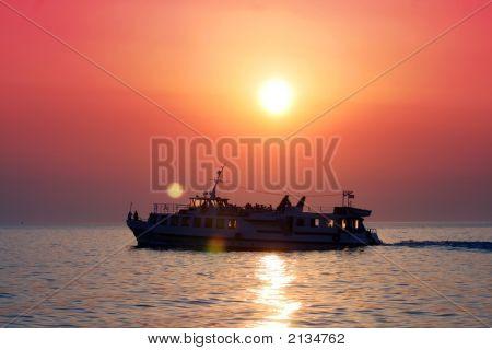 Samll Tour Boat - Paros, Greece