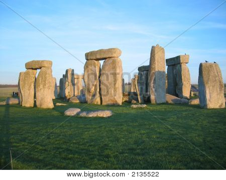 Stonehedge Before Sunset Stonehenge