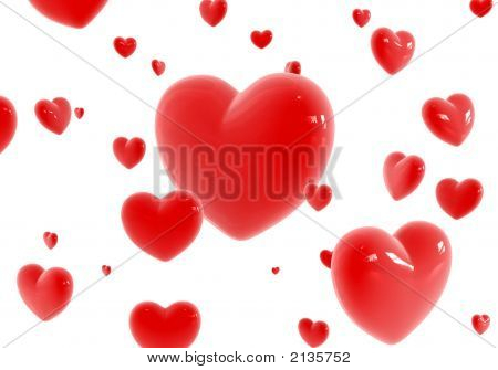 Red Hearts Flying