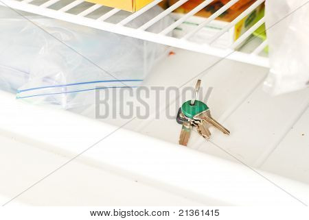 Lost Keys In The Freezer