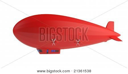 Zeppelin vermelho