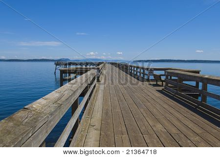 Crab Fishing Pier