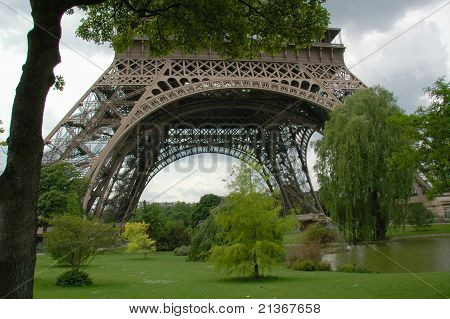 Park around the Eiffle Tower