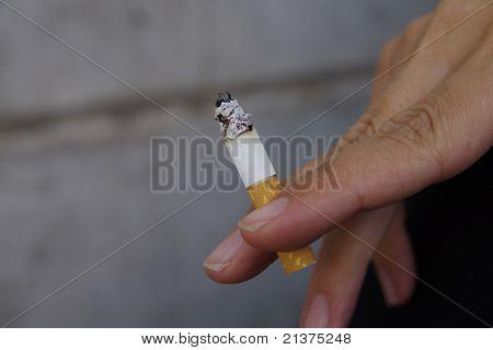 Cigarette Fingers