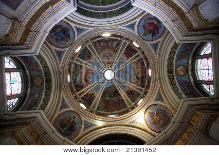 Dome of the The Church Stella Maris