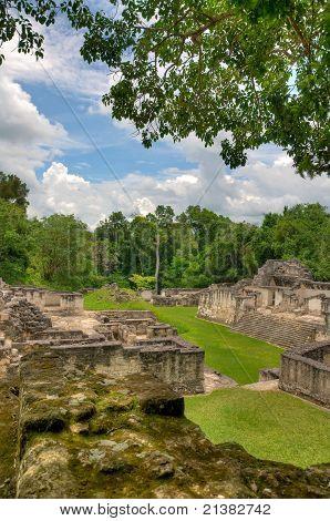 Mayan Ruins in Tikal