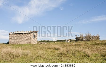 Shacks in Transkei South Africa