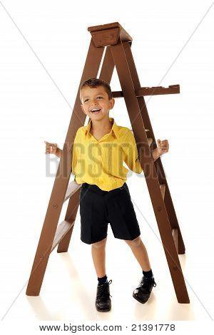 Hängende ' Runde A Ladder