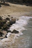 pic of st ives  - St Ives Cornwall beach swash - JPG