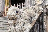 Постер, плакат: Гробница императора Кхай Динь оттенок Вьетнам