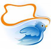 Постер, плакат: птица
