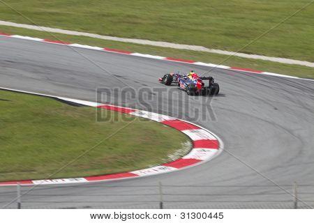 Sebastian Vettel exits turn 9