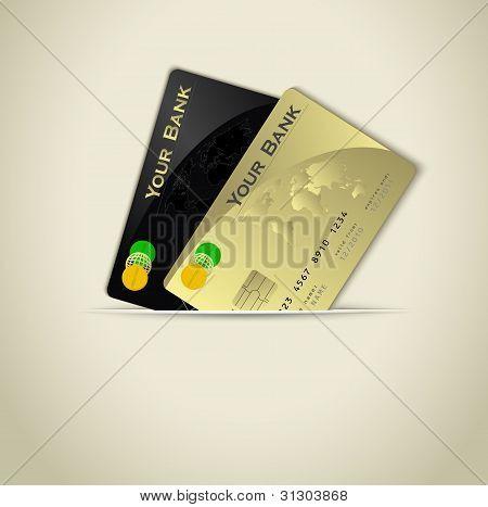 Credit Card Background Raster