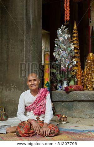 Temple Keeper of Ta Phrom