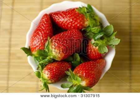 Strawberries In A Cup