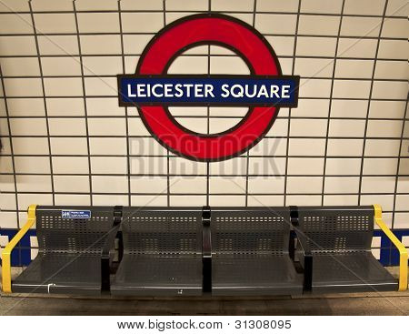 Leicester Square Subway Station