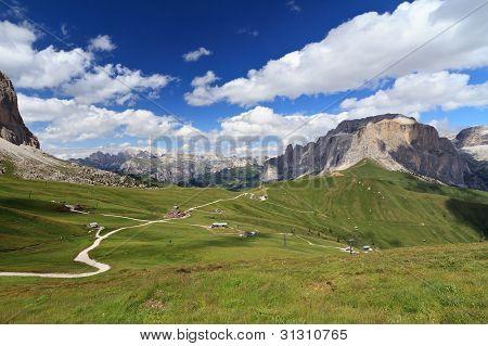 Dolomites - Sella Pass