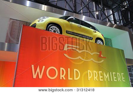 Fiat 500L World Premiere