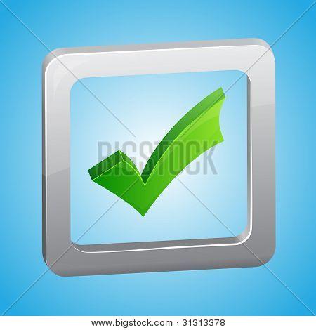 Vector símbolo de lista de verificación
