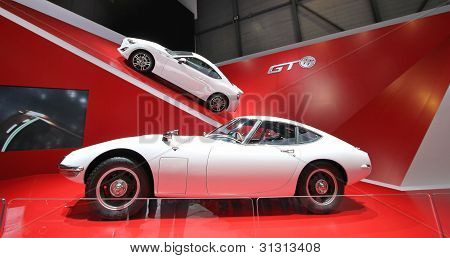 Two White Toyota 2000 Gt