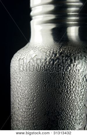 Condensation on Steel Water Bottle
