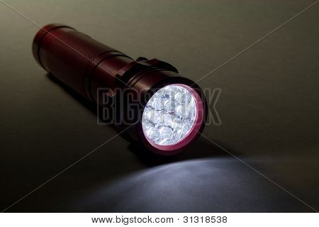 White LED Flashlight