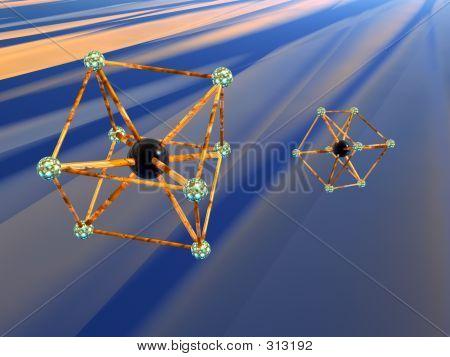 Molecule, Atom.