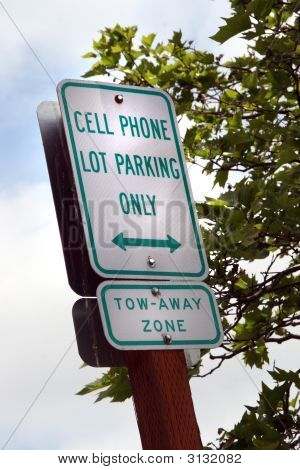 Cell Phone Parking Only