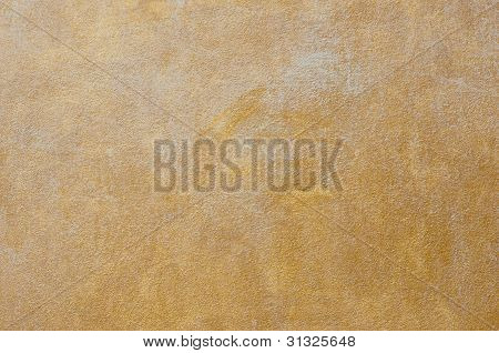 Yellow Exposed Concrete Wall Texture
