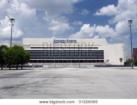 Orlando Amway Arena Awaits Demolition (1)