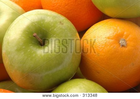 Green Apples Navel Oranges