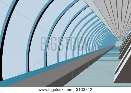 Bridge Way. Vector