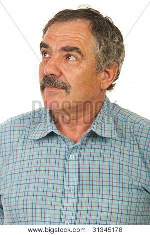 Senior Executive Looking Away