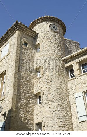 traditional architecture of Provence France
