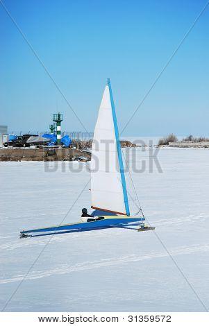 Racing Ice Boat