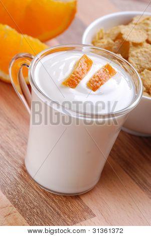 Orange Yogurt