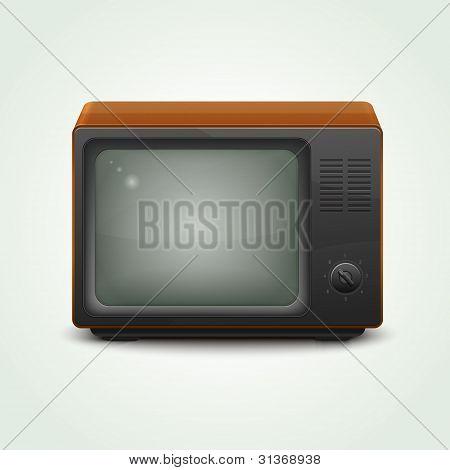 Televisor realista retro
