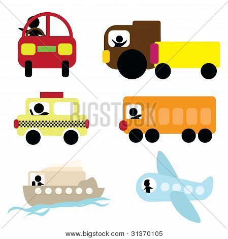 Cartoon-transport