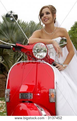 Scooter Bride