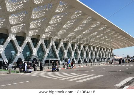 Marrakesh airport, Morocco