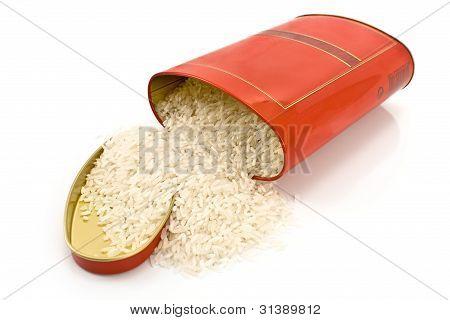 Rice In Tin Red Box