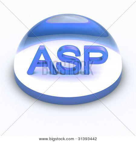 3D Stil Datei Format Symbol asp