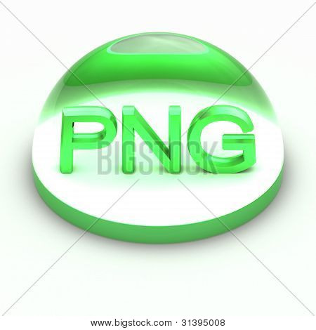 3D Style file format icon - PNG
