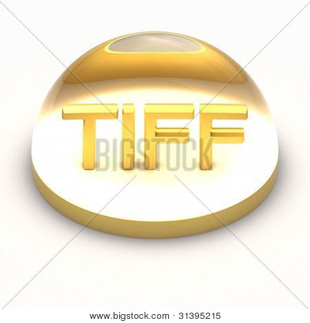 3D Style file format icon - TIFF