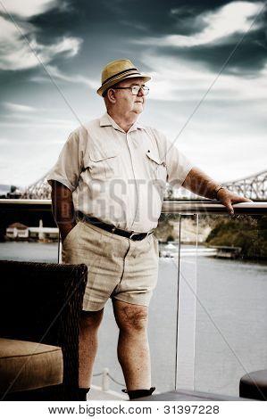 Wealthy Retired Man